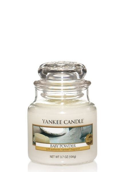 Yankee Candle Baby Powder Small Jar