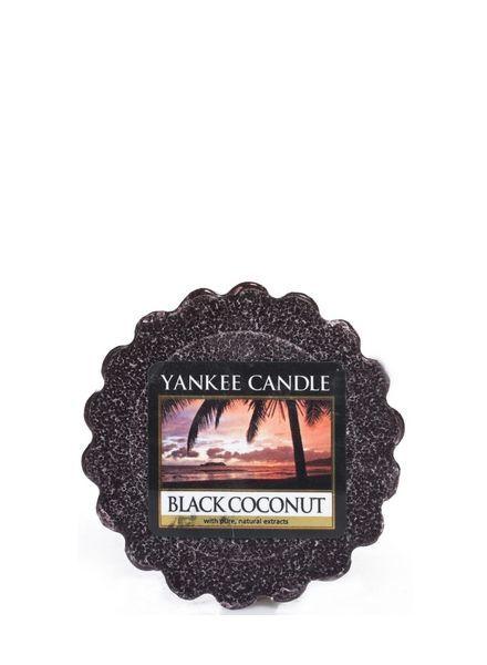 Black Coconut Tart
