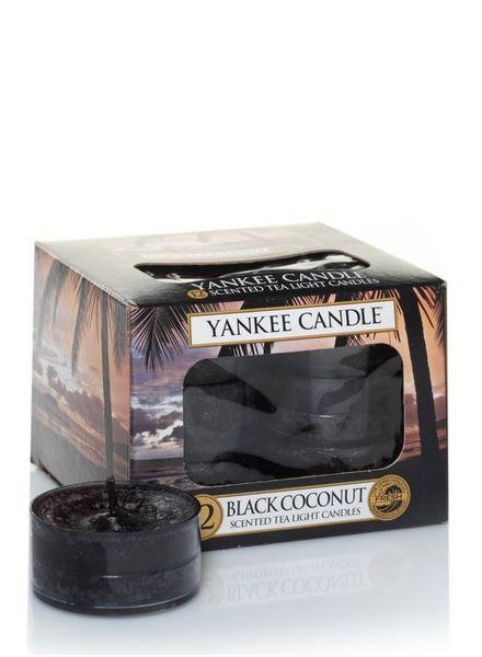 Black Coconut Theelichten
