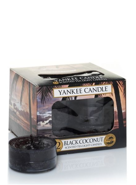 Yankee Candle Black Coconut Theelichten