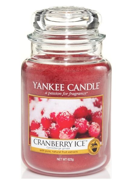 Yanke Candle Cranberry Ice Large Jar