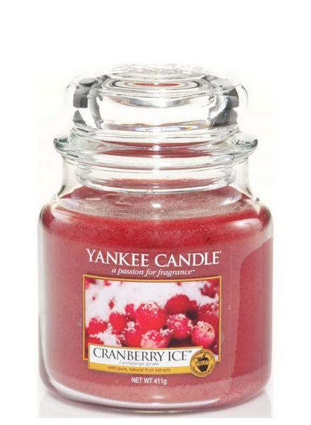 Yankee Candle Cranberry Ice Medium Jar