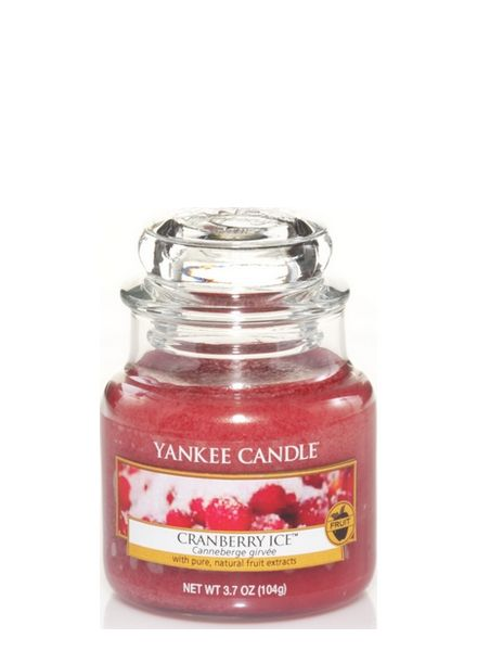 Yankee Candle Cranberry Ice Small Jar