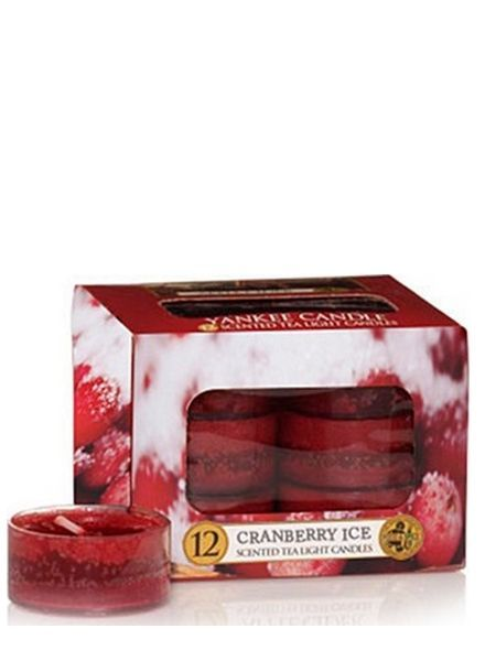 Yankee Candle Cranberry Ice Theelichten