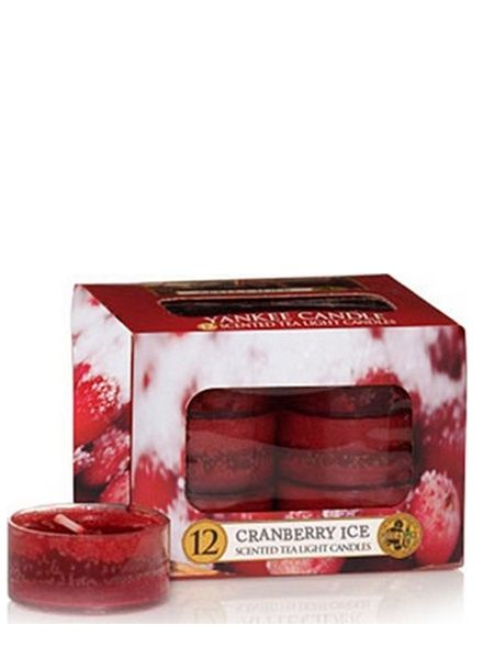 Yankee Candle Yankee Candle Cranberry Ice Theelichten