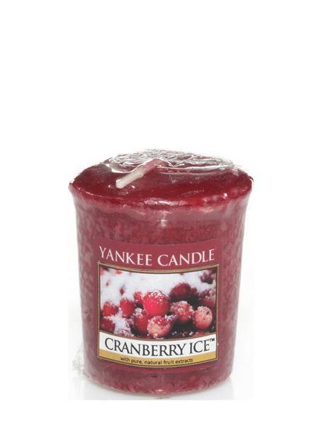Cranberry Ice Votive