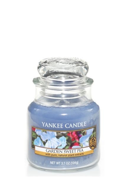 Yankee Candle Yankee Candle Garden Sweet Pea Small Jar