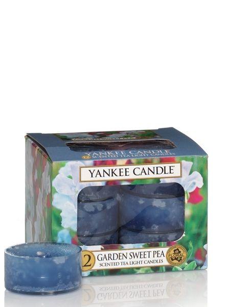Yankee Candle Garden Sweet Pea Theelichten
