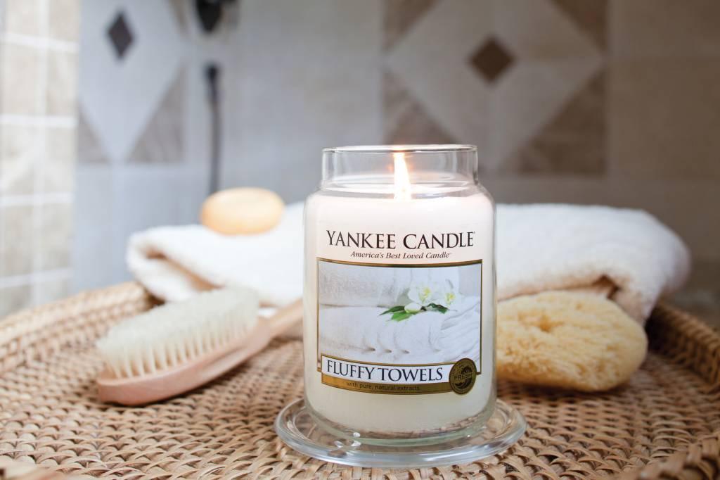 Yankee Candle Yanke Candle Fluffy Towels Large Jar