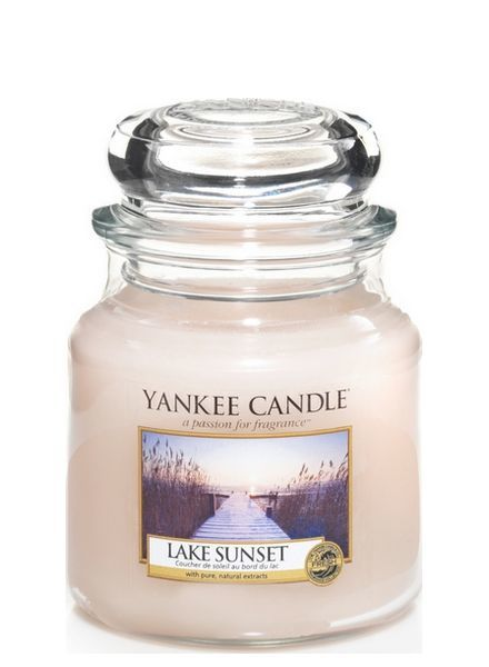 Yankee Candle Lake Sunset Medium Jar