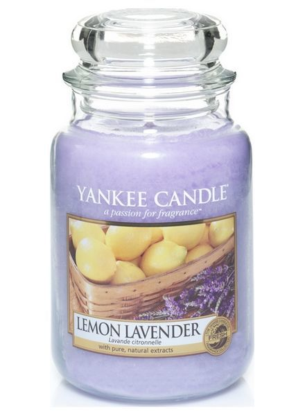 Yankee Candle Lemon Lavender Large Jar