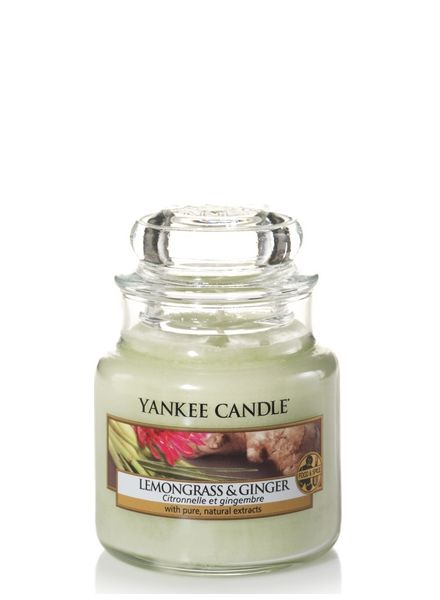 Yankee Candle Yankee Candle Lemongrass & Ginger Small Jar