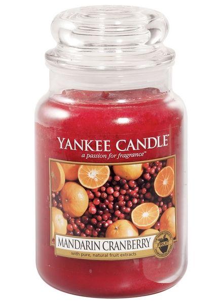 Yanke Candle Mandarin Cranberry Large Jar
