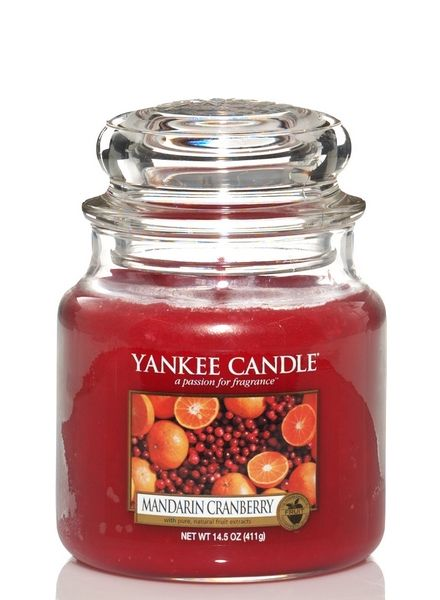 Yankee Candle Yankee Candle Mandarin Cranberry Medium Jar