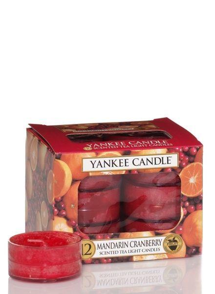 Mandarin Cranberry Theelichten
