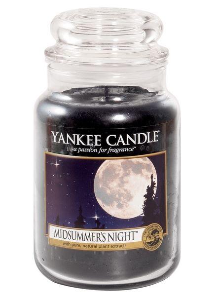 Yanke Candle Midsummers Night Large Jar