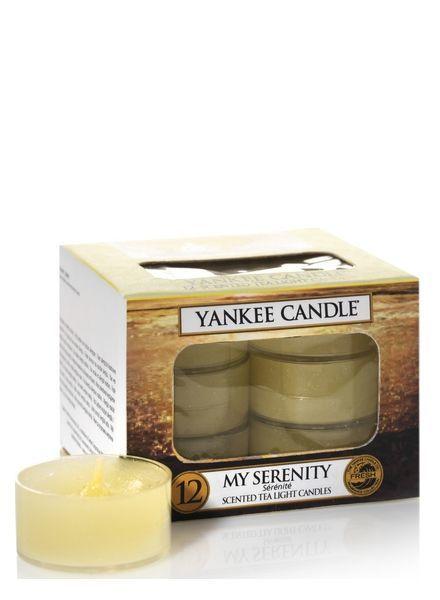 Yankee Candle My Serenity Theelichten