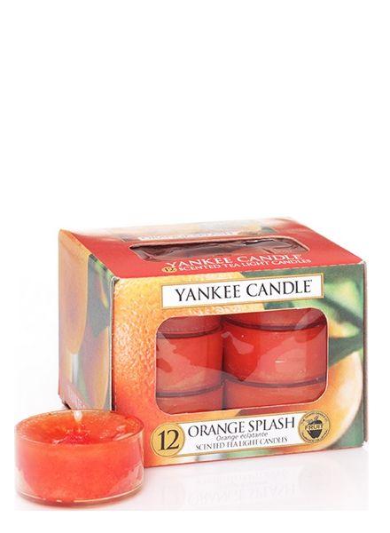 Yankee Candle Orange Splash Theelichten