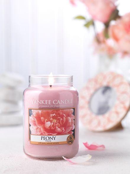 Yanke Candle Peony Large Jar
