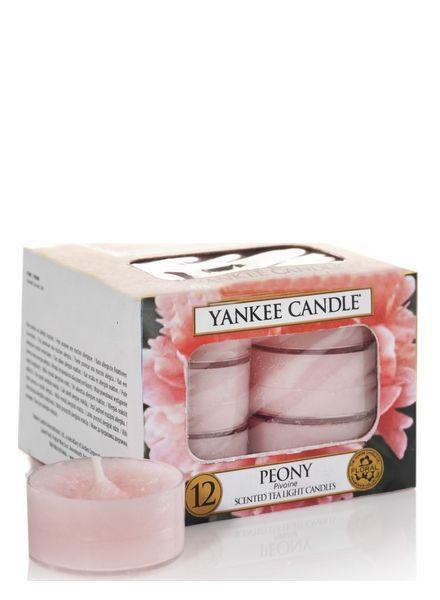 Yankee Candle Yankee Candle Peony Theelichten