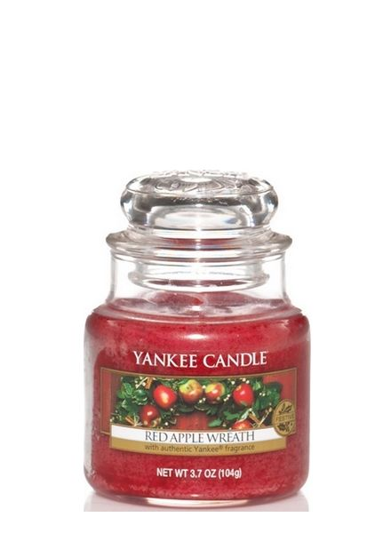 Yankee Candle Yankee Candle Red Apple Wreath Small Jar