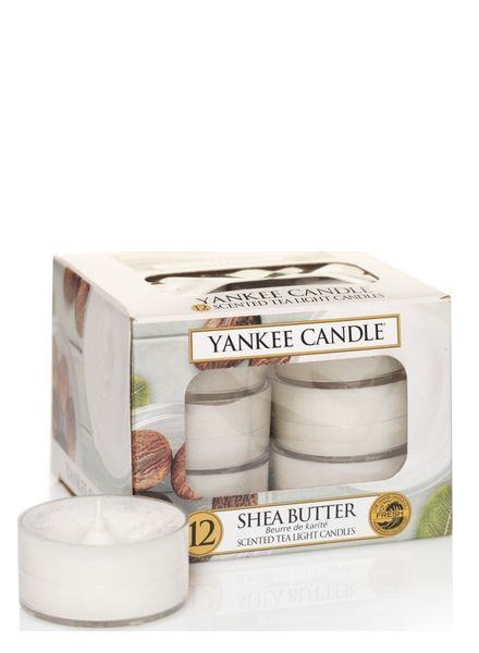 Yankee Candle Shea Butter Theelichten