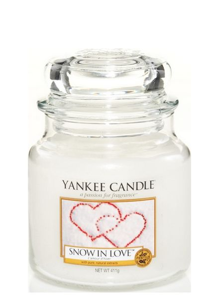Yankee Candle Yankee Candle Snow In Love Medium Jar