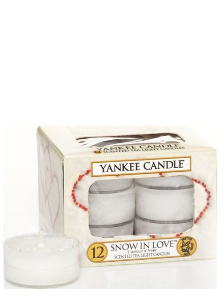 Yankee Candle Yankee Candle Snow In Love Theelichten