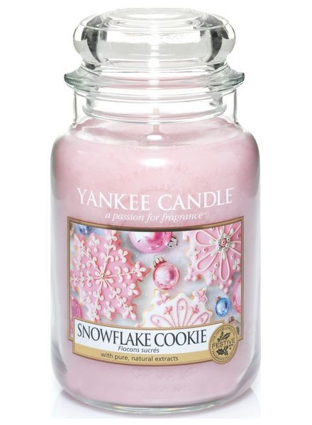 Snowflake Cookie Large Jar