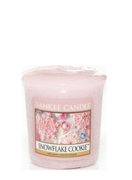 Yankee Candle Snowflake Cookie Votive