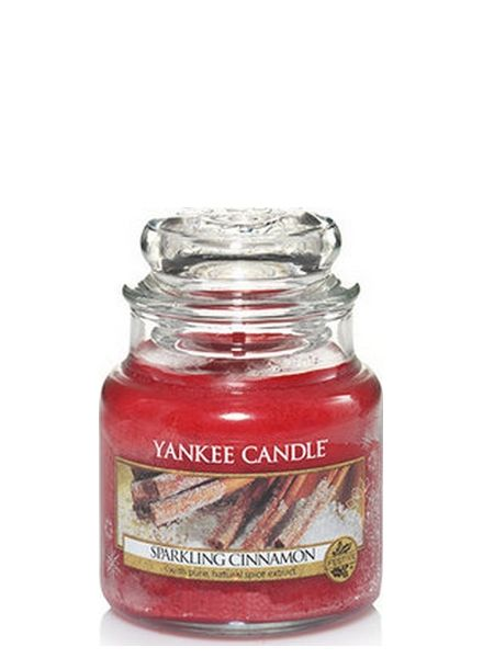 Yankee Candle Sparkling Cinnamon Small Jar