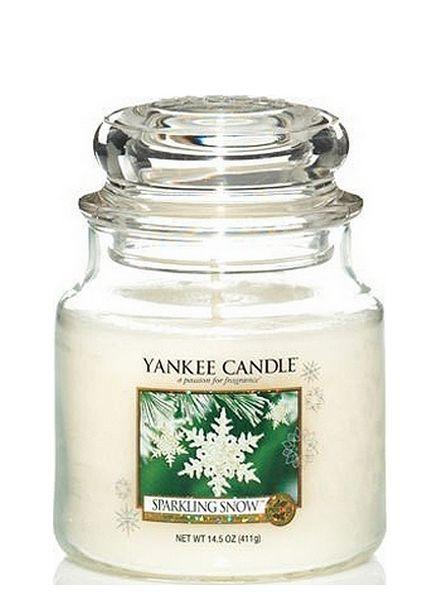 Sparkling Snow Medium Jar