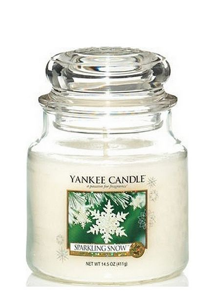 Yankee Candle Sparkling Snow Medium Jar