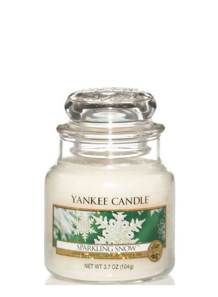 Yankee Candle Sparkling Snow Small Jar