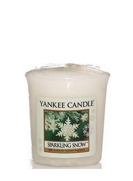 Sparkling Snow Votive