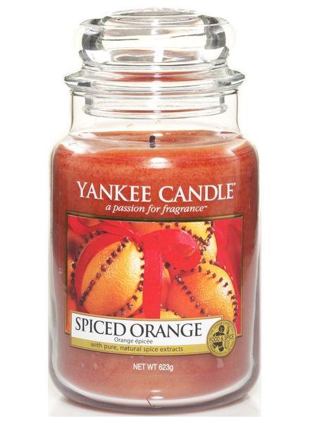 Yankee Candle Yanke Candle Spiced Orange Large Jar