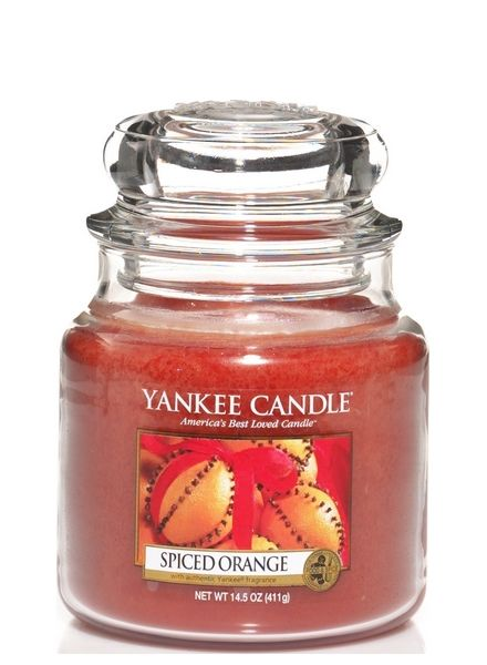 Yankee Candle Yankee Candle Spiced Orange Medium Jar