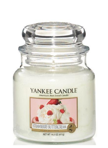Yankee Candle Strawberry Buttercream Medium Jar