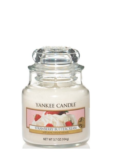 Yankee Candle Strawberry Buttercream Small Jar