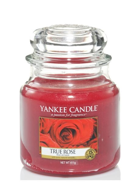 Yankee Candle True Rose Medium Jar