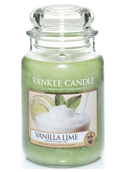 Yanke Candle Vanilla Lime Large Jar
