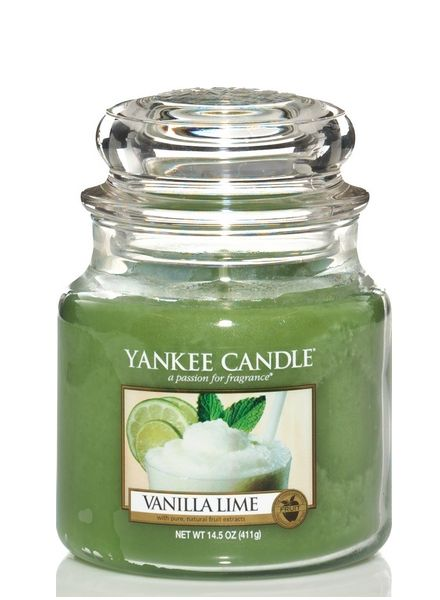 Yankee Candle Yankee Candle Vanilla Lime Medium Jar