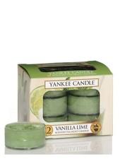 Yankee Candle Vanilla Lime Theelichten