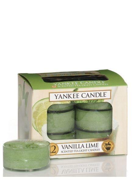 Vanilla Lime Theelichten