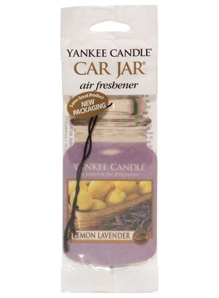 Yankee Candle Car Jar Lemon Lavender