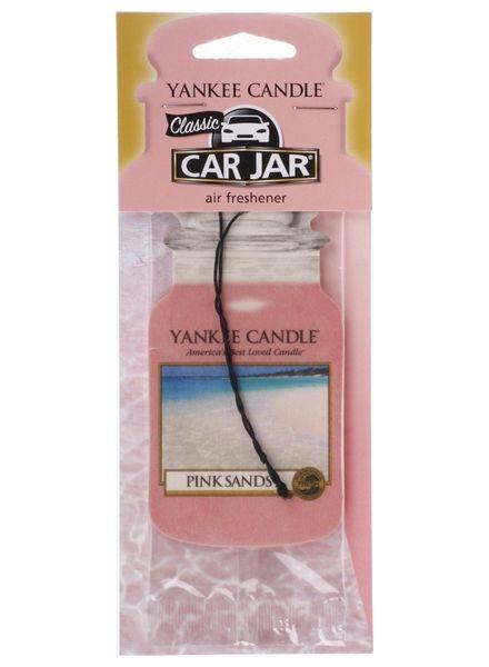 Car Jar Pink Sands