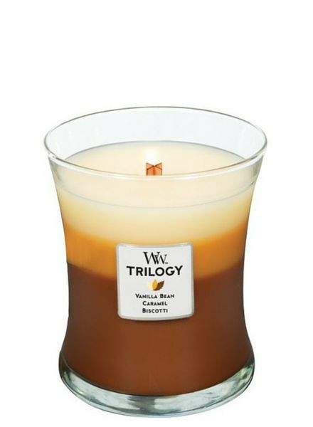 Woodwick Trilogy Caffe Sweets Medium