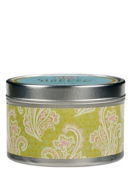Greenleaf Candle Tin Garden Breeze