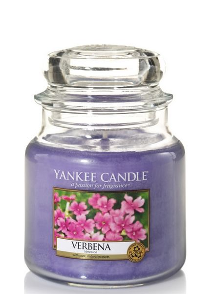 Yankee Candle Verbena Medium Jar