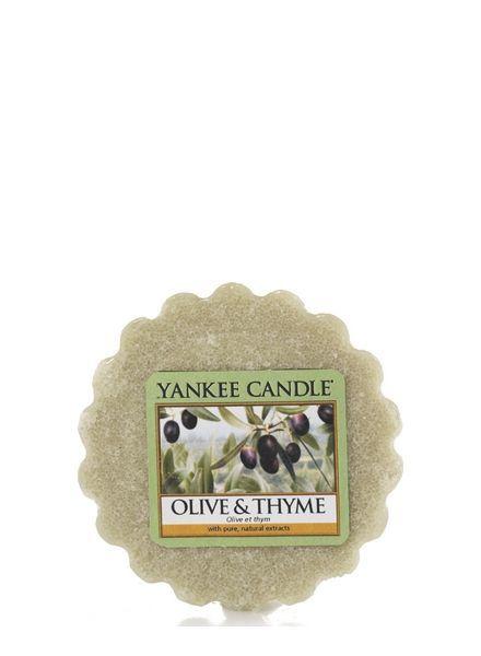 Olive & Thyme Tart